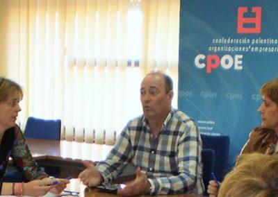 Constitución de Empresarias Palencia