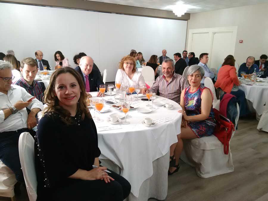 Empresarias Palencia en el Foro Económico organizado por el Norte de Castilla