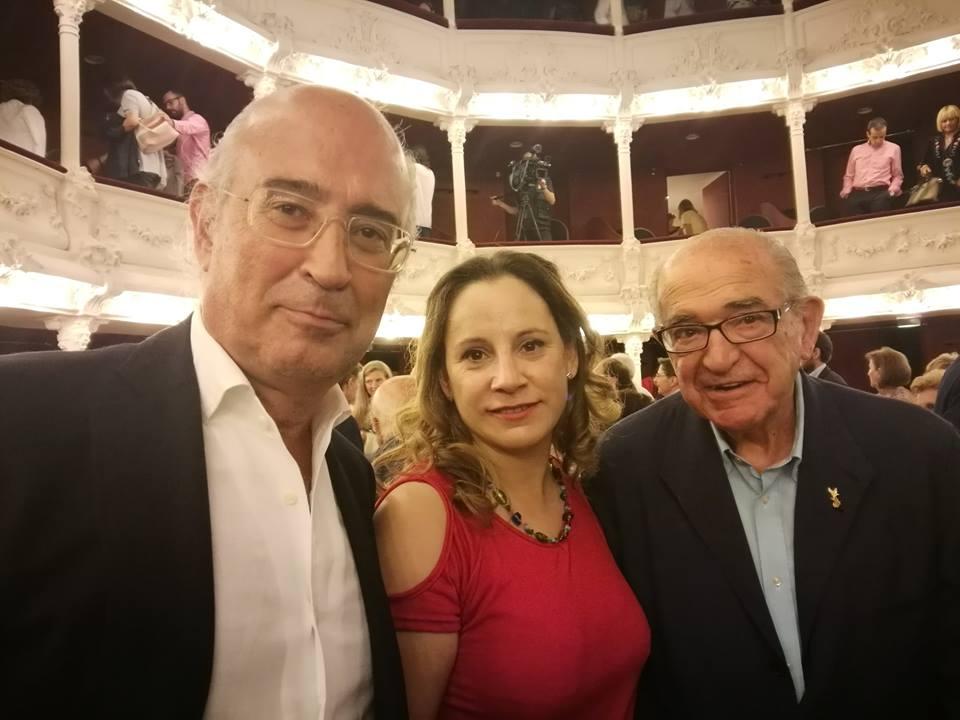 Empresarias Palencia con San Antolin 2017