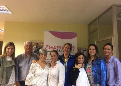 Paloma Rivero con Empresarias Palencia