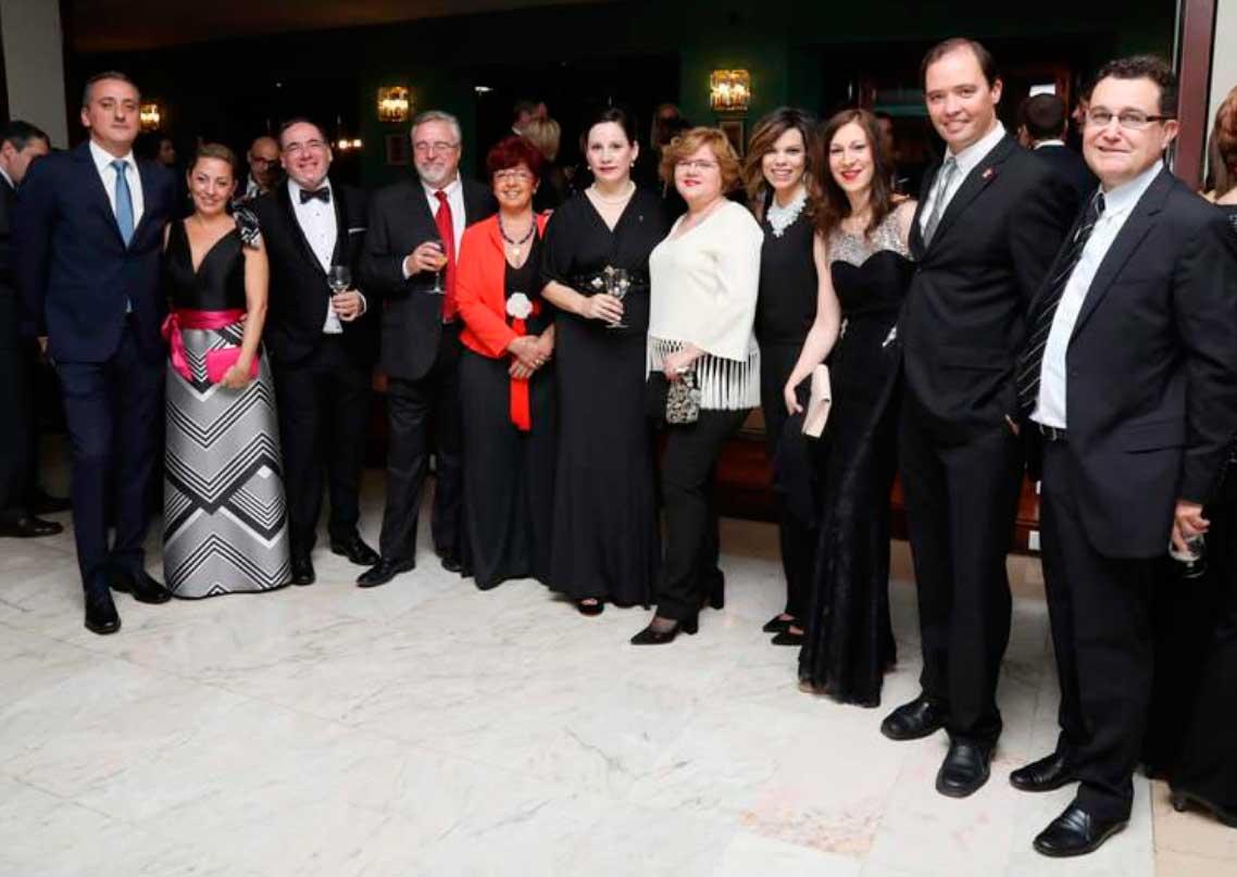30ª Cena de Gala Benéfica organizada por el Rotary Club de Palencia