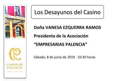 Empresarias Palencia en los desayunos del Casino